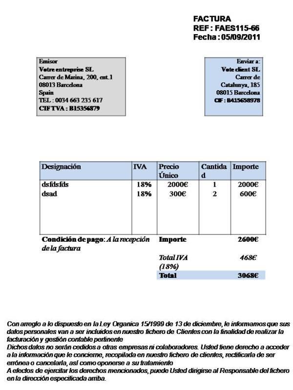 tax invoice template australia